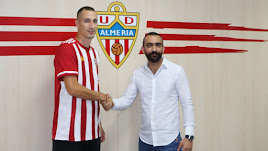 Petrovic con Mohamed El Assy.