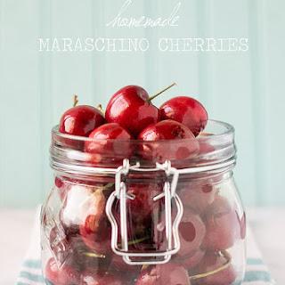 Homemade Maraschino Cherries {DIY Cocktail Cherries}.
