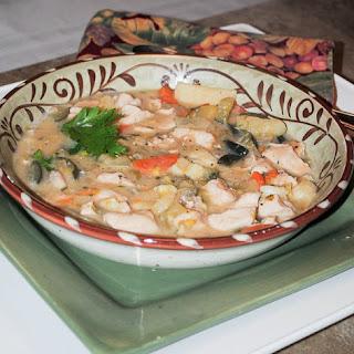 Chicken and Sweet Potato Stew.