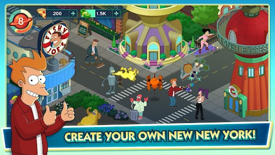 Futurama: Worlds of Tomorrow Mod Apk 1.6.6 2