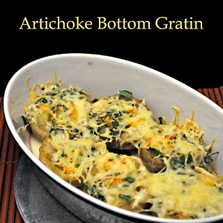 Artichoke Bottom Gratin