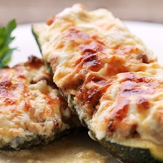 Stuffed Zucchini With Mushrooms Recipes