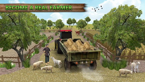 Grand Tractor farming Simulator 2018 - Real Farm - náhled
