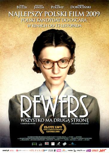 Przód ulotki filmu 'Rewers'