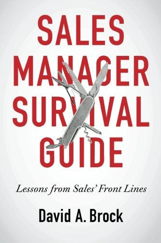 Sales Manager Survival Guide book.