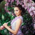 Wonderful lilac flower. HD LW icon