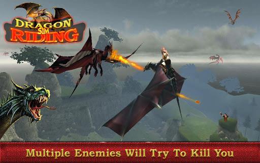 Flying Dragon Simulator – Dragon Rider 1.1 screenshots 9