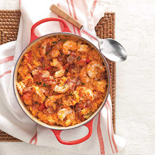 Carolina Red Rice with Shrimp and Bacon Recipe