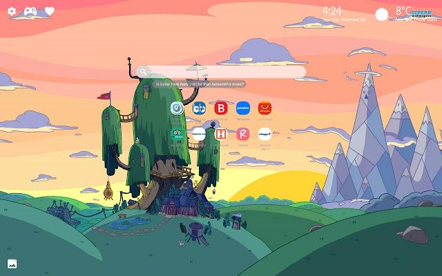 Adventure Time Wallpaper Finn & Jake Theme