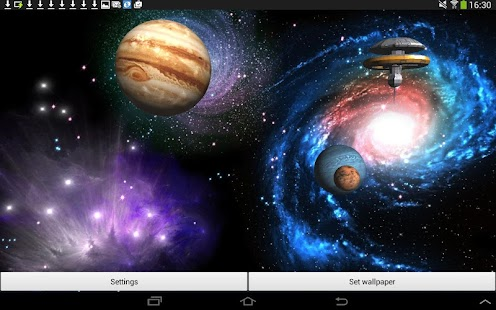 3D Space Live Wallpaper Full- screenshot thumbnail