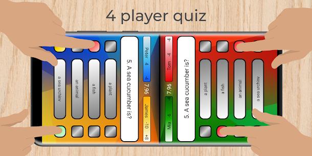 Multiplayer – 3 & 4 player quiz 2