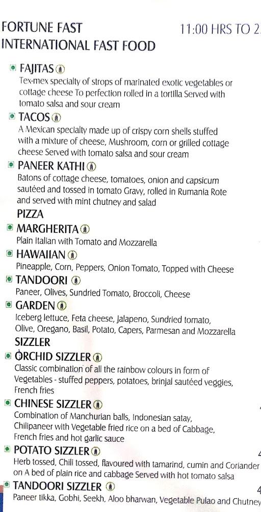 Orchid menu 5