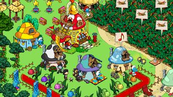 Screenshot of Smurfs' Village