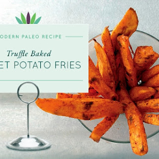 Truffle Baked Sweet Potato Fries