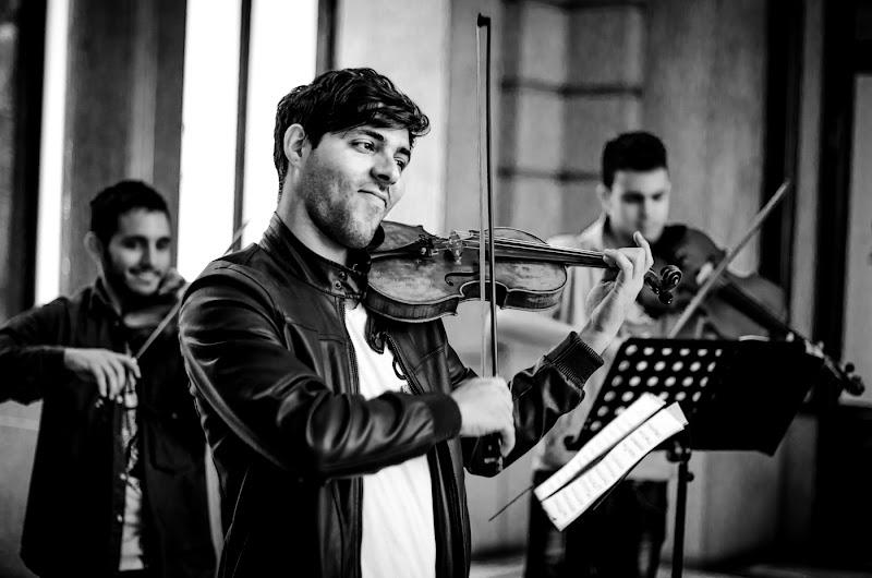 street violinist di marce