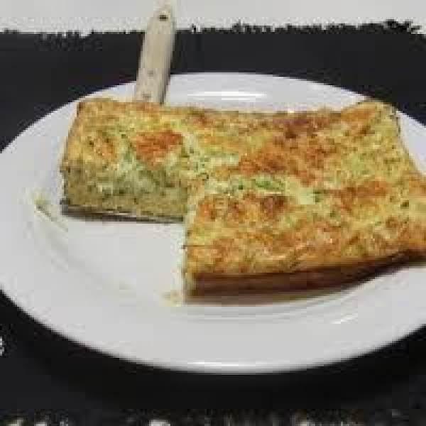 Easy Cheesy Zucchini Squares