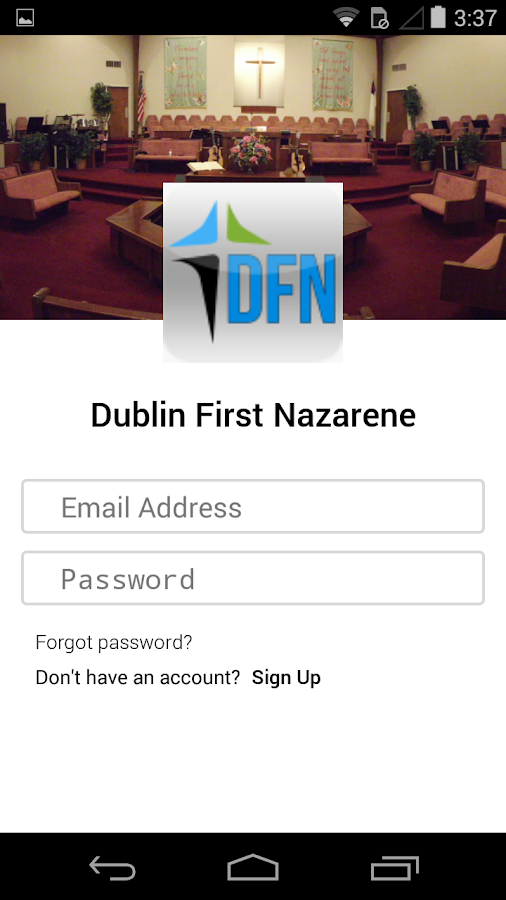 Dublin First Nazarene- screenshot