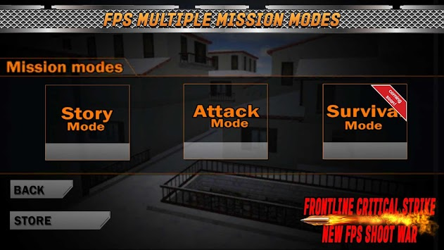 Army Counter : Strike Elite Shooting FPS Killer 3D apk screenshot