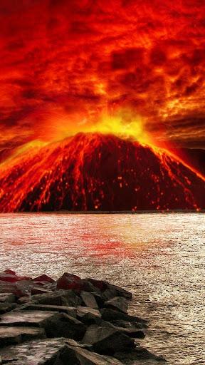 火山 ライブ壁紙