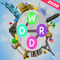 Word connect multi languages : active mind & relax icon