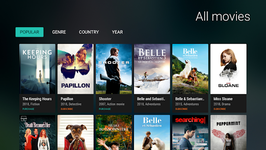 MEGOGO for Android TV MOD APK (Ad Free) 8