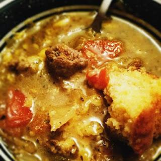Salsa Verde Stew.