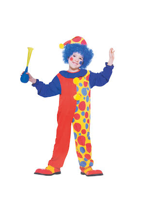 Clowndräkt barn toddler