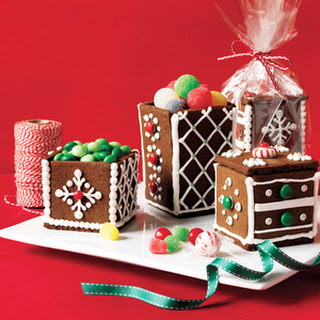 Gingerbread Gift Boxes