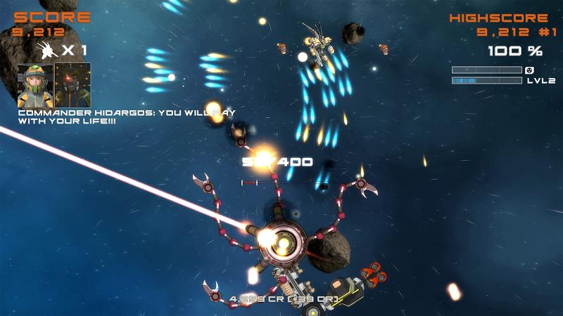 Quantum Revenge - Mecha Robot Space Shooter Screenshot 13