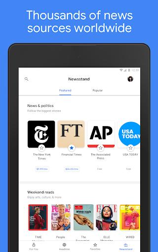 Google News: Top World & Local News Headlines screenshot 16