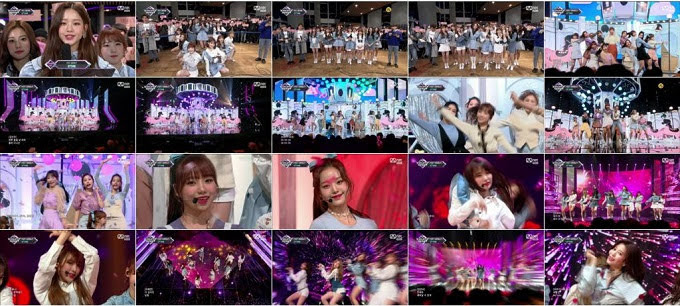 181101 IZONE Part - Mnet M Countdown