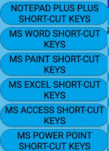 Computer Shortcut Keys-App(2019) for PC / Windows 7, 8, 10