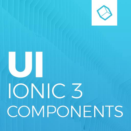 Ionic 3 Material Design UI Template - Blue Light