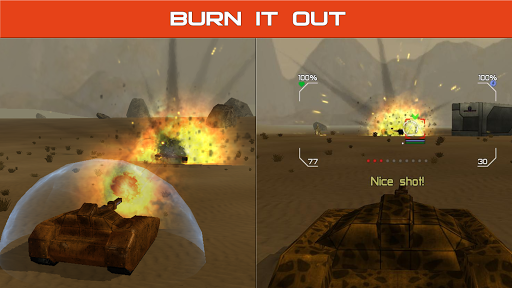 Tank Combat : Future Battles  captures d'écran 4