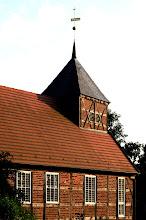 Photo: Die Filialkirche des ehemaligen Bauerndorfes Plauerhagen bei Krakow