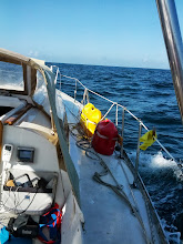 Photo: starboard side after loosing the mast