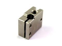 E3D Plated Copper Volcano Heater Block for Sensor Cartridges