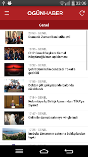 Ogünhaber- screenshot thumbnail