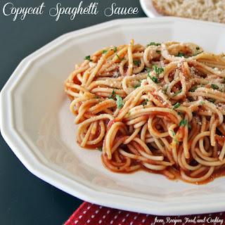 Copycat Spaghetti Sauce