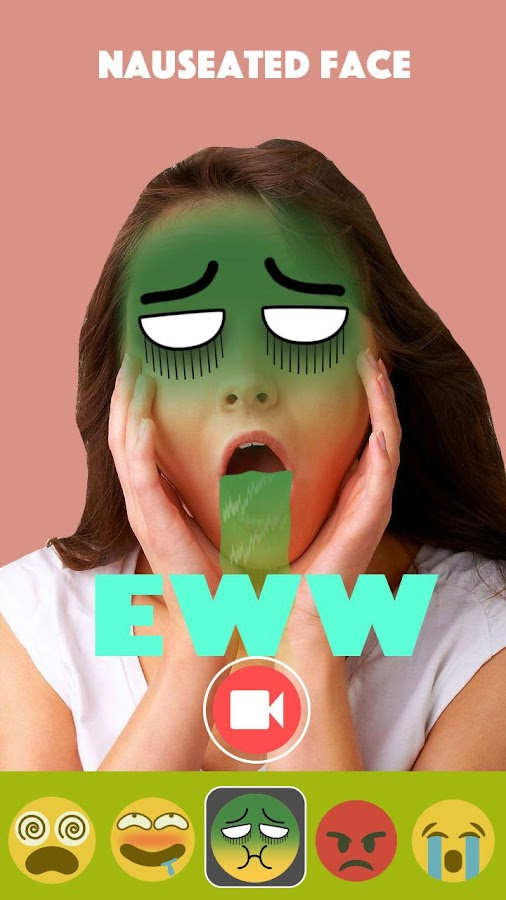 Live Emoji Face Swap Emoticons- screenshot