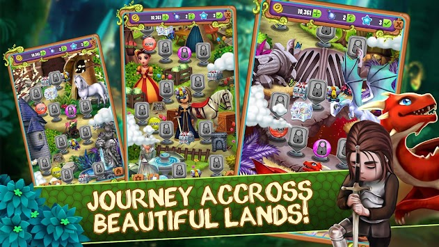 Mahjong Blitz - Land of Knights & Dragons apk screenshot
