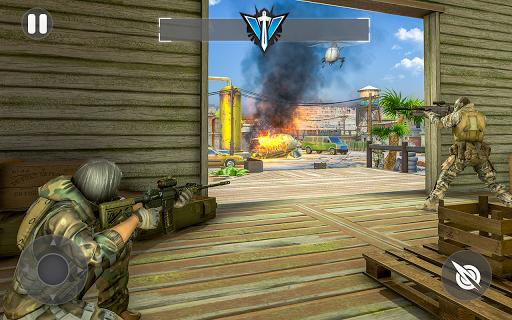 Cover Fire Shooter 3D: Offline Sniper Shooting apkmind screenshots 2