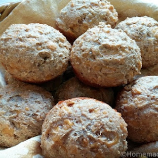 Savoury Cheddar Onion Muffins.