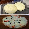 Pizza dough icon