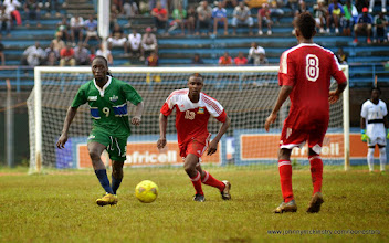 Photo: Ibrahim Kallay [Leone Stars v Seychelles, Freetown, 19 July 2014 (Pic: Darren McKinstry)]