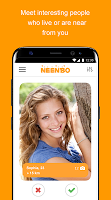 screenshot of Neenbo - chat, dating and meeting
