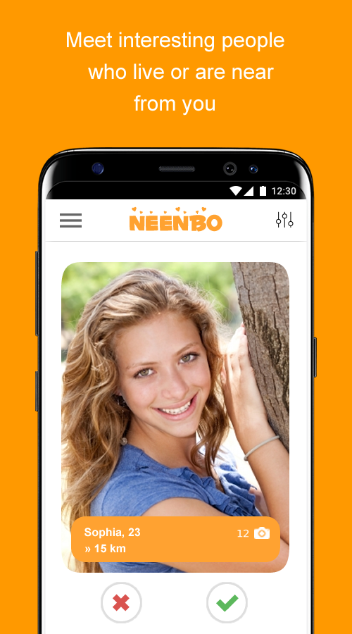 Neenbo - chat, dating and meeting- screenshot