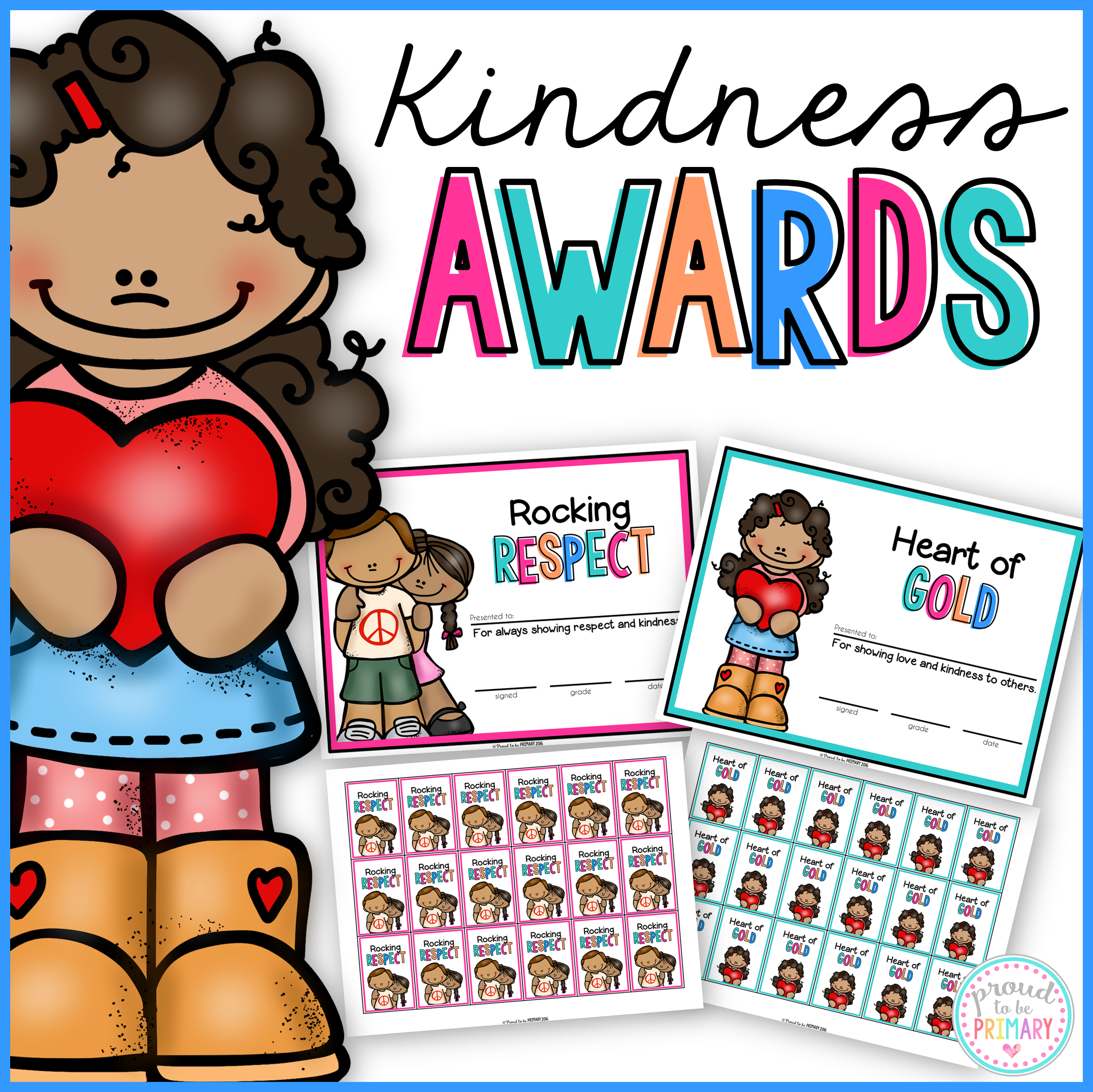 kindness activities - awards