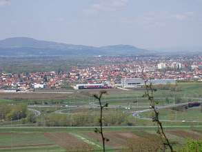 Photo: pogled na Cirnik  i grad Zaprešić