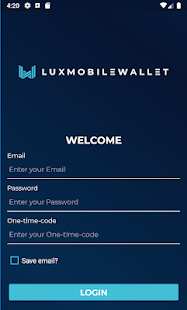 Download Luxcore Web Wallet App For PC Windows and Mac apk screenshot 1